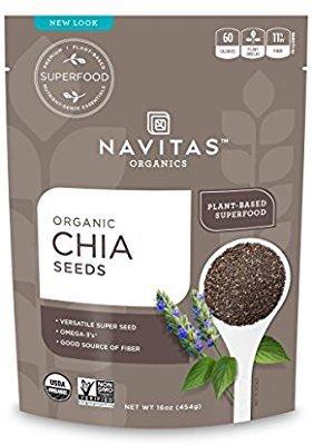 $4.99 免邮Navitas Organics 有机奇亚籽 8oz.