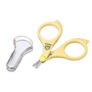 $6.29 美亚4.9超高分好评Simba 婴幼儿安全指甲剪刀,好操作不伤手