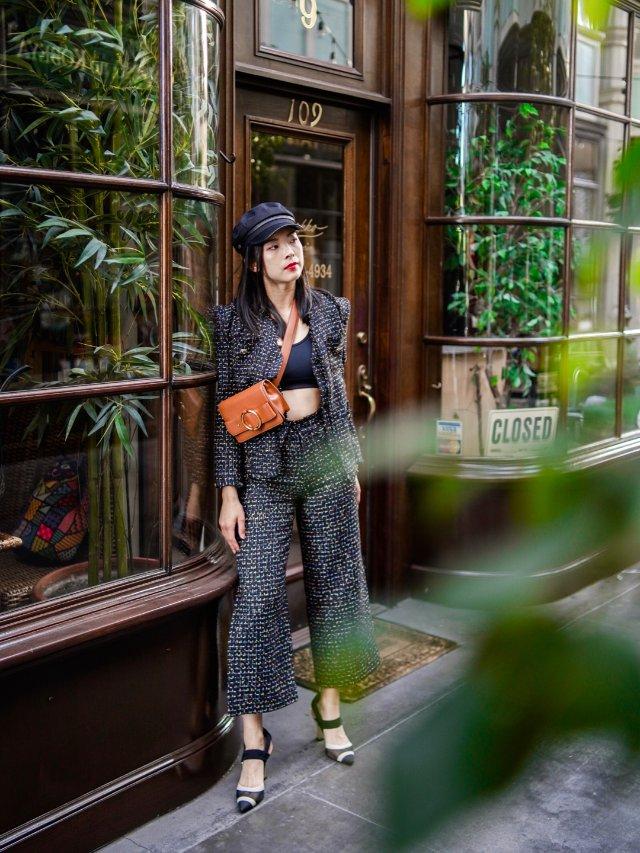 #昆娜穿搭#小如果要去纽约时装周,...