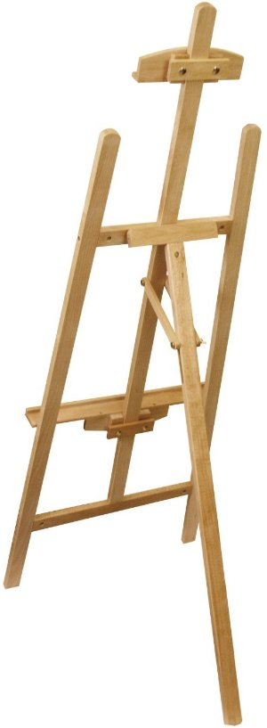 Amazon.com: US Art Supply 56 inch High Medium A-Frame Wood Lyre Artist Easel
