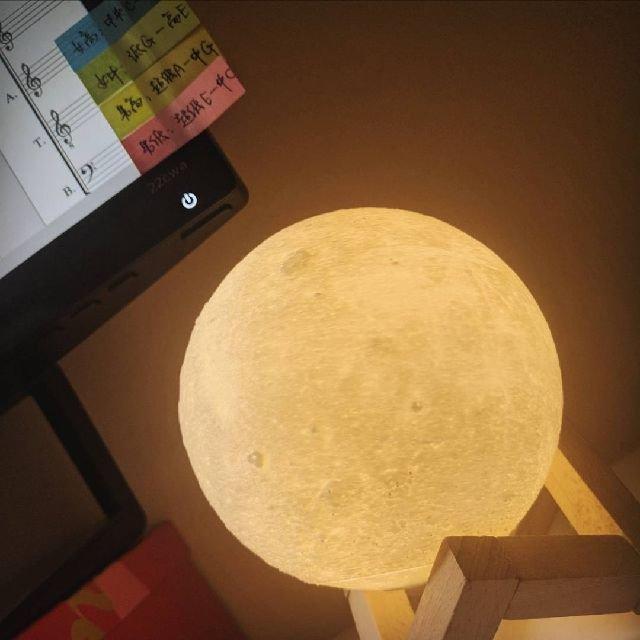 特别有古典韵味的月球小灯~