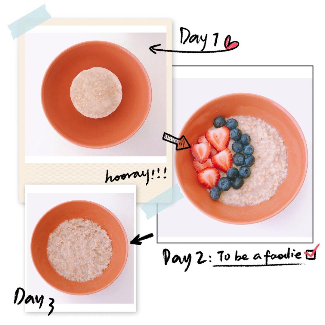 营养方便的燕麦粥早餐🍳