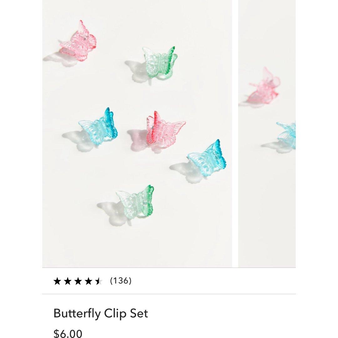 UO~蝴蝶🦋发夹