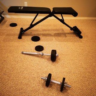 健身房🏋🏻关门了怎么办|在家打造简易训练...