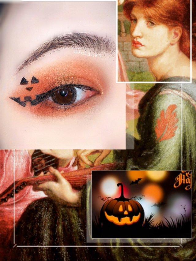 美妆|万圣节眼妆2⃣️ 恶灵附身👻...