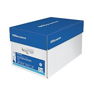 As low as $4.99Office Depot Brand Multipurpose Paper, 5000 sheets
