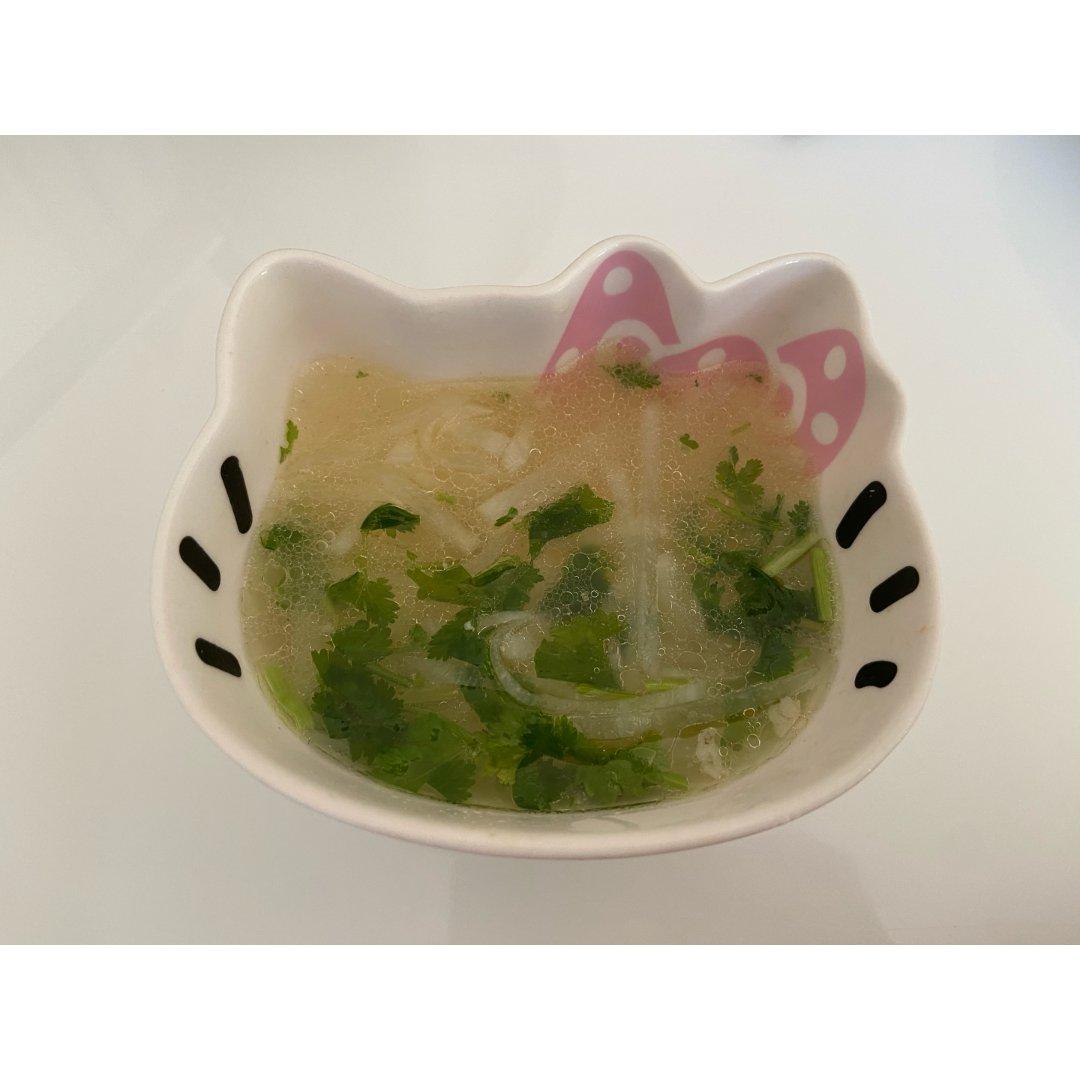 三文鱼头萝卜汤