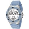 $38.00Invicta Women's Angel White Dial Baby Blue Silicone 0735
