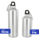 ArchStone 5-Piece Aluminum Reusable Water Bottle Set