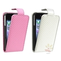 Faux Leather Flip Case 2-Pack for Apple iPhone 4 / 4S