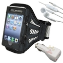Deluxe ArmBand for Apple iPhone 4 / 4S Bundle