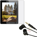 $5.99Stereo Earbuds w/ Screen Protector for Apple iPad 2