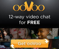 Free 12-Way Video and Voice Chatat ooVoo.com