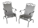 Plantation Patterns Napa 2 Piece Wrought Iron Chair Set Dealmoon