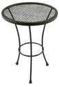12 Plantation Patterns Napa Wrought Iron Patio Side Table Dealmoon