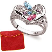 $19.99Marquise Family Birthstone Ring with Free Gift