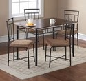 Mainstays 5 Piece Dining Set 11996 Dealmoon