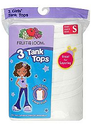 $1Fruit of the Loom Girls' Small Tank Top 3-Pack