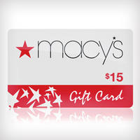 $7.50for a $15 Macy's Gift Card  @ Saveology