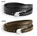 $5.99Men's Classic Narrow Faux Leather Belt