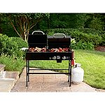 $81Nexgrill Mini Charcoal/Gas Combination Grill or Kenmore 4-Burner Gas Grill with Side Burner