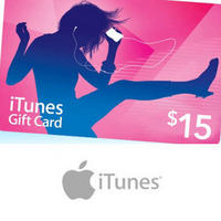 $7.50For A $15 iTunes Gift Card