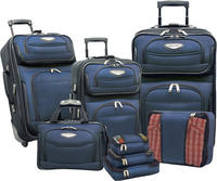 Traveler's Choice Amsterdam II 8-Piece Luggage Set