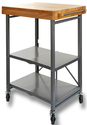 Origami Folding Kitchen Island Cart $69.95 - Dealmoon