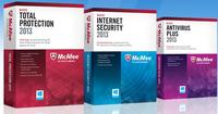 Up to 50% OffMcAfee 2013 产品半价优惠