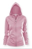 $19Women's Poly-Fleece Zip Jacket Hoodie x 2