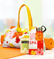 $29Tazo Green Tea Spa Yoga Gift Set