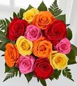 FTD 12 Rose Mixed Bouquet
