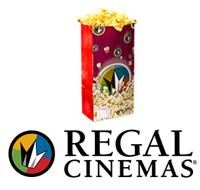 $3 OFFany popcorn mobile coupon @ Regal Cinemas