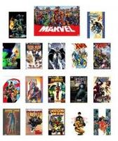 $37Marvel Superhero Assorted Graphic Novel 15-Pack