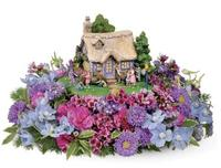 Hand-Painted Easter Egg Hunt Cottage 12-Pack