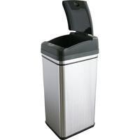 iTouchless 13 Gallon Deodorizer Filtered Infrared Sensor Automatic Trash Can