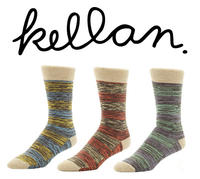 Extra 5% OFF+3 Pairs of Kellan Socks for $25 @Kellan