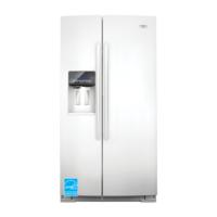 Whirlpool 26.4-Cubic Foot Side-by-Side Refrigerator