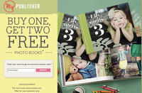 Buy 1 Photo Book,Get 2 Free @ MyPublisher