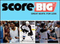 Extra 20% Off + Up to 60% offon sports, concert & theater tickets in limited time @ ScoreBig.com
