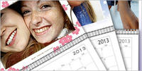 $412-Month Personalized Wall Calendar