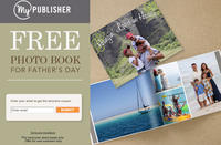 FreeHardcover Photo Book for Father's Day @MyPublisher