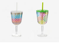 Formation Insulated Wine Glass with Lid & Straw (2 Options)