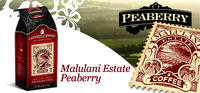 $11.99 + Free Shipping100% Malulani Estate Peaberry Coffee (8 oz.) @Coffees of Hawaii