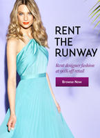$25 off $75+ Luxury Dress, Jewelry Rentalsat Rent the Runway