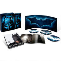 The Dark Knight Trilogy Gift Set on Blu-ray
