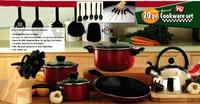 $29.99Kitchen Gourmet 20-Piece Professional Cookware Set