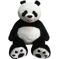 29 99 Jumbo 53 Plush Panda Bear Costco Store Dealmoon