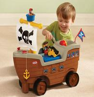 $26Little Tikes Play 'n Scoot Pirate Ship
