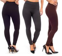 602fb90b78b3bd 3 Pack: Fleece Lined Leggings @ Tanga - Dealmoon
